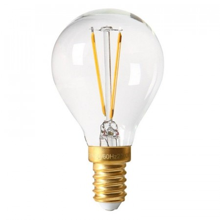Vintage LED Filament Bulb Clear E14.