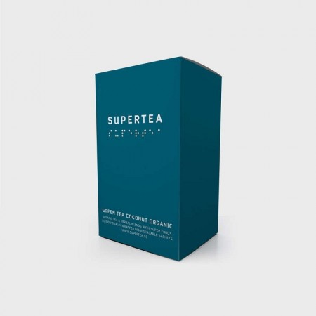 Supertea Green Tea Coconut Organic.