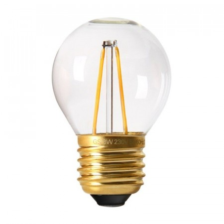 Vintage LED Filament Bulb Clear E27.
