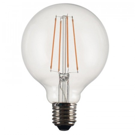 Vintage LED Filament Globe Clear 125mm