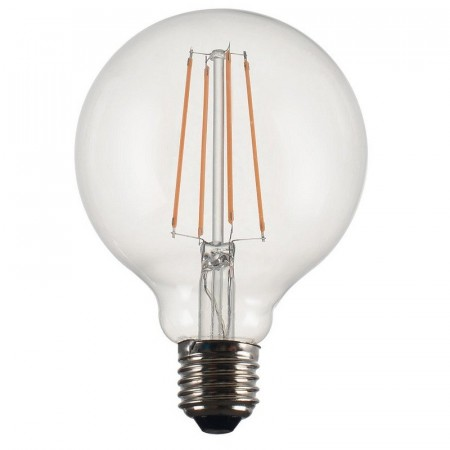 Vintage LED Filament Globe Clear 95mm.