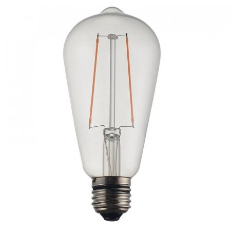 Vintage LED Filament Edison Clear 58mm.