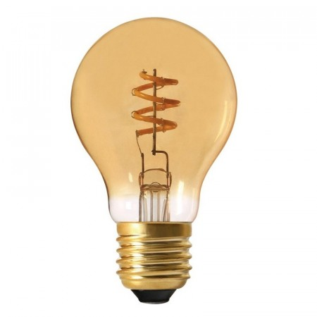 Elect Spiral LED Fil Normal Gold 60mm.